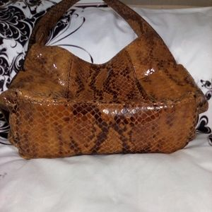 Michael Kors Bags - Micheal Kors -Price Reduced!! Snakeskin Purse
